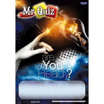 250 Mr Quiz Posters